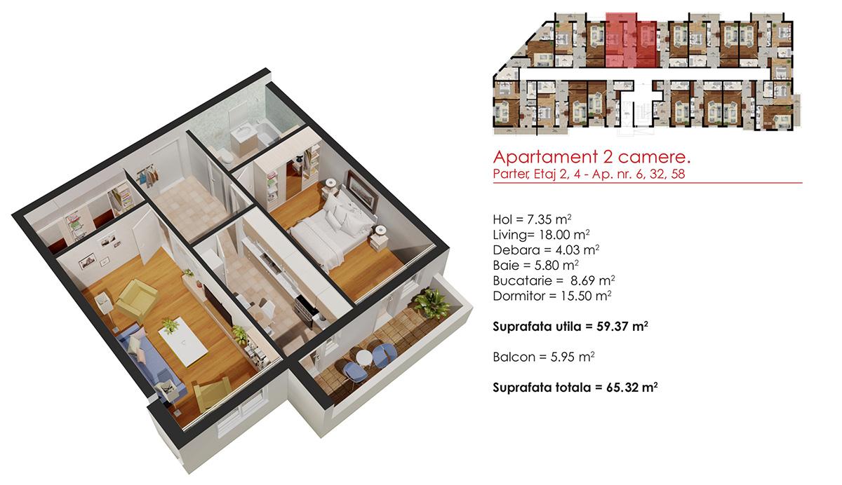 Schita apartament
