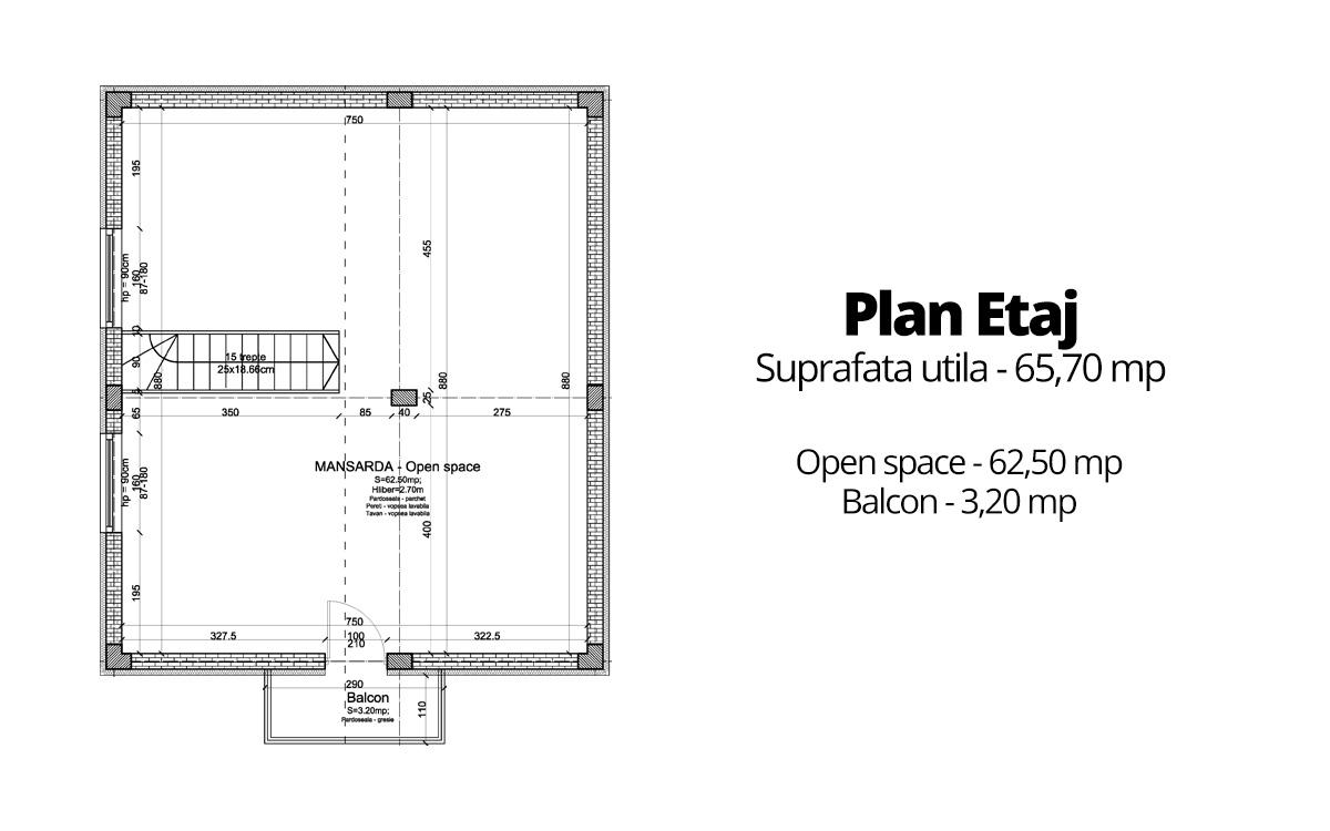 Plan Mansarda